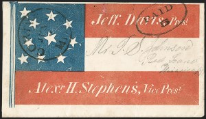 Sale Number 1186, Lot Number 560, Patriotics-Handstamped Paid and Due MarkingsCorinth Miss. Jun. 3 (1861), Corinth Miss. Jun. 3 (1861)