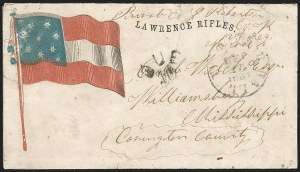 Sale Number 1186, Lot Number 570, Patriotics-Handstamped Paid and Due MarkingsTudor Hall Va. Dec. 23, 1861, Tudor Hall Va. Dec. 23, 1861