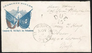 Sale Number 1186, Lot Number 588, Patriotics-Handstamped Paid and Due MarkingsTudor Hall Va. Nov. 9, 1861, Tudor Hall Va. Nov. 9, 1861