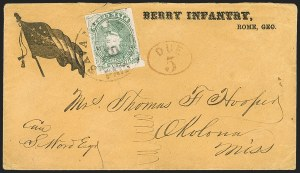 Sale Number 1186, Lot Number 597, Patriotics-General Issues5c Green, Stone 1-2 (4), 5c Green, Stone 1-2 (4)