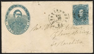 Sale Number 1186, Lot Number 627, Patriotics-General Issues5c Blue, Stone 2 (4), 5c Blue, Stone 2 (4)