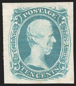 "Sale Number 1186, Lot Number 763, 10c Blue 'TEN' Engraved10c Blue, ""TEN"" (9), 10c Blue, ""TEN"" (9)"