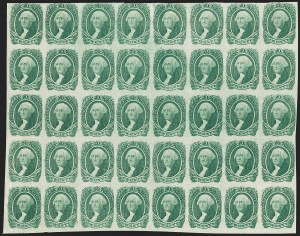 Sale Number 1186, Lot Number 833, 20c Green Engraved20c Green (13), 20c Green (13)