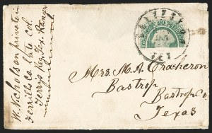 Sale Number 1186, Lot Number 841, 20c Green Engraved20c Green, Horizontal Half Used as 10c (13e), 20c Green, Horizontal Half Used as 10c (13e)