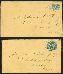 Sale Number 1186, Lot Number 842, 20c Green Engraved20c Green, Horizontal Half Used as 10c (13e), 20c Green, Horizontal Half Used as 10c (13e)