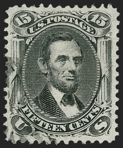Sale Number 1187, Lot Number 158, 1867-68 Grilled Issue (Scott 79-101)15c Black, E. Grill (91), 15c Black, E. Grill (91)
