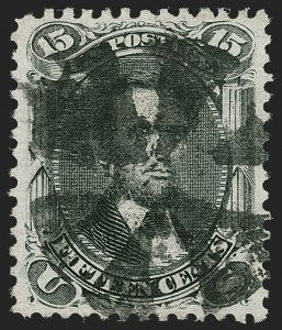 Sale Number 1187, Lot Number 159, 1867-68 Grilled Issue (Scott 79-101)15c Black, E. Grill (91), 15c Black, E. Grill (91)