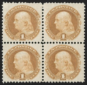 Sale Number 1187, Lot Number 190, 1869 Pictorial Issue (Scott 112-122)1c Buff (112), 1c Buff (112)