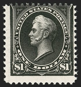 Sale Number 1187, Lot Number 394, 1894-98 Bureau Issues (Scott 246-284)$1.00 Black (261), $1.00 Black (261)