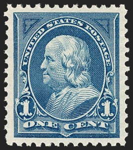 Sale Number 1187, Lot Number 400, 1894-98 Bureau Issues (Scott 246-284)1c Blue (264), 1c Blue (264)