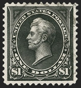Sale Number 1187, Lot Number 407, 1894-98 Bureau Issues (Scott 246-284)$1.00 Black, Ty. I (276), $1.00 Black, Ty. I (276)