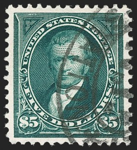 Sale Number 1187, Lot Number 413, 1894-98 Bureau Issues (Scott 246-284)$5.00 Dark Green (278), $5.00 Dark Green (278)