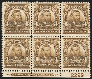 Sale Number 1187, Lot Number 453, 1902-08 Issues (Scott 300-320)4c Brown (303), 4c Brown (303)