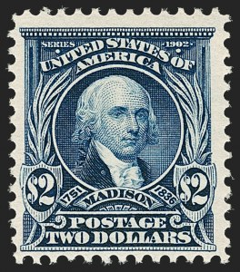 Sale Number 1187, Lot Number 458, 1902-08 Issues (Scott 300-320)$2.00 Dark Blue (312), $2.00 Dark Blue (312)