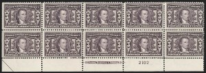 Sale Number 1187, Lot Number 507, 1904 Louisiana Purchase Issue (Scott 323-327)3c Louisiana Purchase (325), 3c Louisiana Purchase (325)