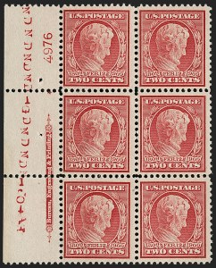 Sale Number 1187, Lot Number 539, 1909 Commemorative Issues (Scott 367-373)2c Lincoln, Bluish (369), 2c Lincoln, Bluish (369)
