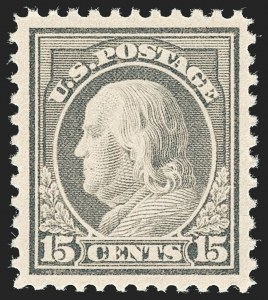 Sale Number 1187, Lot Number 633, 1917-19 Issues (Scott 481-524)15c Gray (514), 15c Gray (514)
