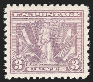 Sale Number 1187, Lot Number 648, 1919-20 Issues (Scott 537-550)3c Light Reddish Violet (537b), 3c Light Reddish Violet (537b)