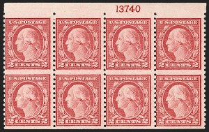 Sale Number 1187, Lot Number 649, 1919-20 Issues (Scott 537-550)1c-2c Rotary Perf 11 x 10, Vertical Pair, Imperforate Horizontally (538a, 540a), 1c-2c Rotary Perf 11 x 10, Vertical Pair, Imperforate Horizontally (538a, 540a)