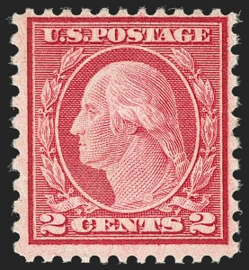 Sale Number 1187, Lot Number 650, 1919-20 Issues (Scott 537-550)2c Carmine Rose, Ty. II, Rotary Perf 11 x 10 (539), 2c Carmine Rose, Ty. II, Rotary Perf 11 x 10 (539)