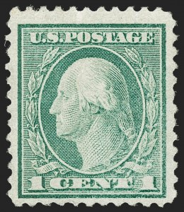 Sale Number 1187, Lot Number 652, 1919-20 Issues (Scott 537-550)1c Green, Rotary Perf 11 (544), 1c Green, Rotary Perf 11 (544)