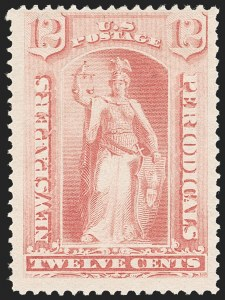 Sale Number 1187, Lot Number 757, Newspapers and Periodicals12c Pink, 1894 Issue (PR95), 12c Pink, 1894 Issue (PR95)