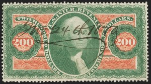 Sale Number 1187, Lot Number 788, Revenues$200.00 U.S.I.R., Perforated (R102c), $200.00 U.S.I.R., Perforated (R102c)
