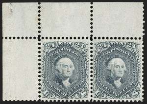 Sale Number 1188, Lot Number 56, 1861-66 Issue, including Lincoln-Related, Sanitary Fair and Adams Express,