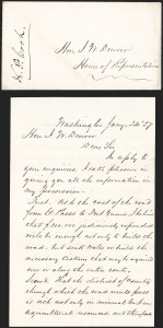 Sale Number 1189, Lot Number 1022, Early Mail and Expresses1857 Letter Concerning Improvements to the Wagon Road from El Paso to Fort Yuma through Arizona, 1857 Letter Concerning Improvements to the Wagon Road from El Paso to Fort Yuma through Arizona