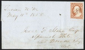 Sale Number 1189, Lot Number 1023, Early Mail and Expresses,