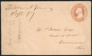 Sale Number 1189, Lot Number 1025, Early Mail and Expresses,