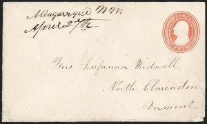 Sale Number 1189, Lot Number 1036, Arizona Area of New Mexico Territory,