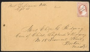 Sale Number 1189, Lot Number 1040, Arizona Area of New Mexico Territory,