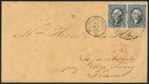 Sale Number 1189, Lot Number 1045, Arizona Area of New Mexico Territory12¢ Black (17), 12¢ Black (17)
