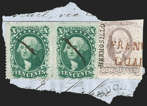 Sale Number 1189, Lot Number 1050, Arizona Area of New Mexico Territory10¢ Green, Ty. V (35), 10¢ Green, Ty. V (35)