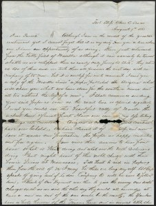 Sale Number 1189, Lot Number 1086, Civil War and Confederate Arizona1861 August 9--Letter Describing First Battle of Mesilla, Confederate Invasion of New Mexico and Union Surrender, 1861 August 9--Letter Describing First Battle of Mesilla, Confederate Invasion of New Mexico and Union Surrender