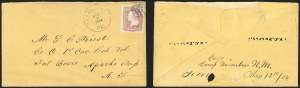 Sale Number 1189, Lot Number 1115, U.S. Military Camps and FortsCamp Mimbres (Inbound), Camp Mimbres (Inbound)