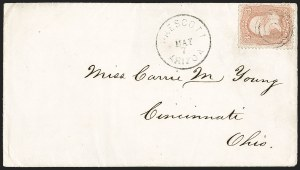 Sale Number 1189, Lot Number 1169, Arizona Territory Post Offices, cont.Prescott, Prescott
