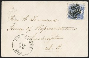 Sale Number 1189, Lot Number 1174, Arizona Territory Post Offices, cont.3¢ Ultramarine (114), 3¢ Ultramarine (114)