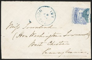 Sale Number 1189, Lot Number 1180, Arizona Territory Post Offices, cont.3¢ Ultramarine (114), 3¢ Ultramarine (114)