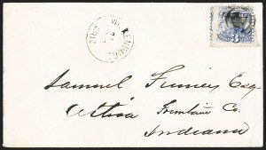 Sale Number 1189, Lot Number 1190, Arizona Territory Post Offices, cont.3¢ Ultramarine (114), 3¢ Ultramarine (114)