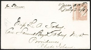 Sale Number 1189, Lot Number 1211, Arizona Territory Post Offices, cont.,