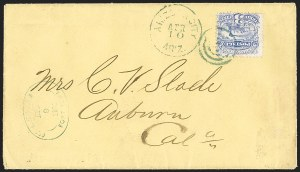 Sale Number 1189, Lot Number 1213, Arizona Territory Post Offices, cont.3¢ Ultramarine (114), 3¢ Ultramarine (114)