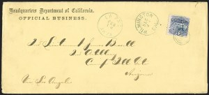 Sale Number 1189, Lot Number 1214, Arizona Territory Post Offices, cont.3¢ Ultramarine (114), 3¢ Ultramarine (114)