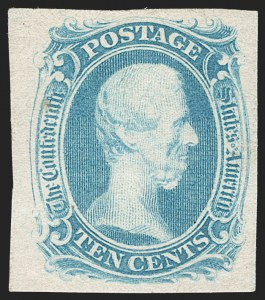 "Sale Number 1190, Lot Number 1372, 10¢ Blue ""TEN"" Engraved10c Blue, ""TEN"" (9), 10c Blue, ""TEN"" (9)"