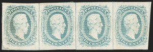 Sale Number 1190, Lot Number 1390, 10¢ Blue Frameline Engraved 10c Blue, Frameline (10), 10c Blue, Frameline (10)