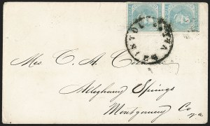 Sale Number 1190, Lot Number 1425, Railroad Markings5c Light Blue, De La Rue (6), 5c Light Blue, De La Rue (6)