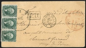 Sale Number 1191, Lot Number 2061, Western Mails -- Utah Territory10c Green, Ty. III (33), 10c Green, Ty. III (33)