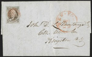 Sale Number 1191, Lot Number 2101, 1847 Issue5c Red Brown (1), 5c Red Brown (1)