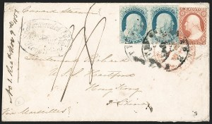 Sale Number 1191, Lot Number 2118, 1851-60 Issues1c Blue, Ty. IV (9), 1c Blue, Ty. IV (9)